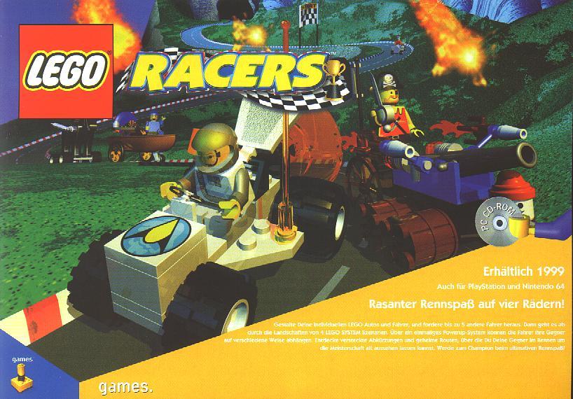 lego racers 2 pc  full version